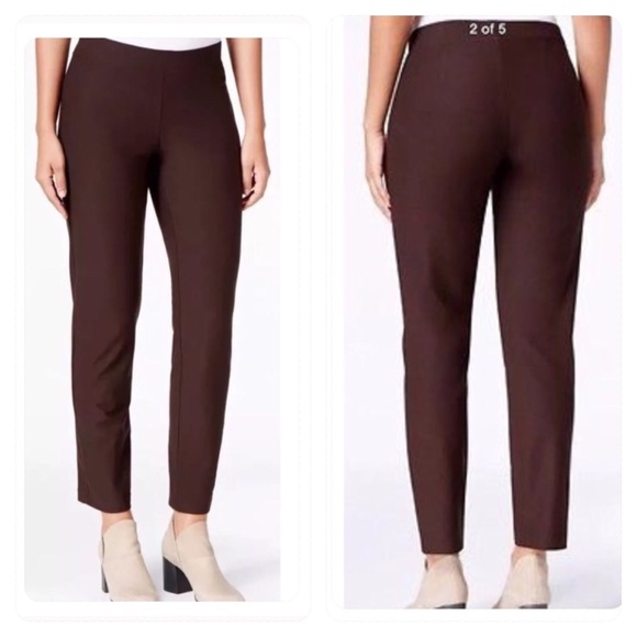 7cecb7f55a Eileen Fisher Pants | Nwt Stretch Crepe Slim Ankle Pant | Poshmark